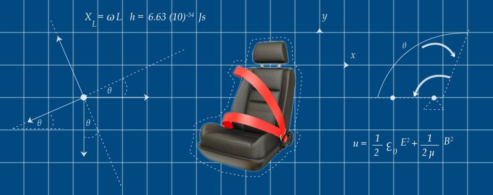 Seat belts diagram